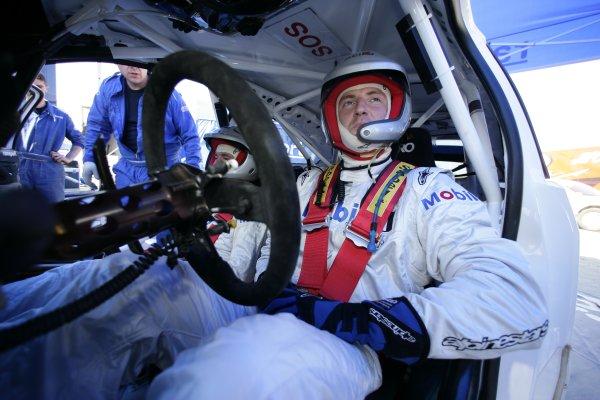 2007 FIA World Rally ChampionshipRound 8Acropolis Rally of Greece31/5-3/6  2007Guy Wilks, portrait, FordWorldwide Copyright: McKlein/LAT
