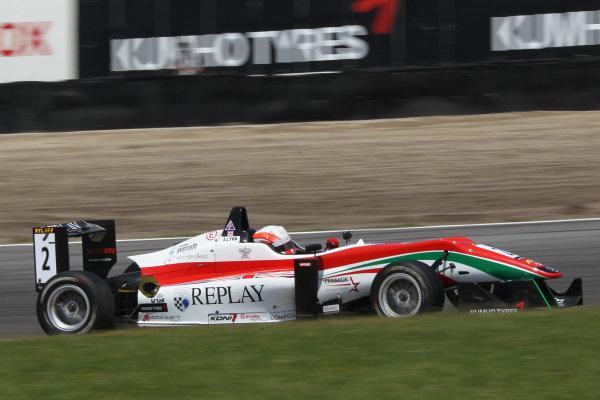 2013 Masters of Formula Three, Zanvoort, 7th July 2013. Alex Lynn (GB) Prema Powerteam Dallara F312 Mercedes World Copyright: Essay/Ebrey/LAT Photographic