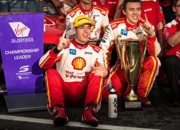 2017 Supercars Championship Round 8.  Ipswich SuperSprint, Queensland Raceway, Queensland, Australia. Friday 28th July to Sunday 30th July 2017. Scott McLaughlin, Team Penske Ford.  World Copyright: Daniel Kalisz/ LAT Images Ref: Digital Image 290717_VASCR8_DKIMG_9873.jpg