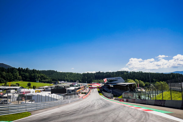 2017 GP3 Series Round 2.  Red Bull Ring, Spielberg, Austria. Thursday 6 July 2017. A view of the track. Photo: Zak Mauger/GP3 Series Media Service. ref: Digital Image _56I0020
