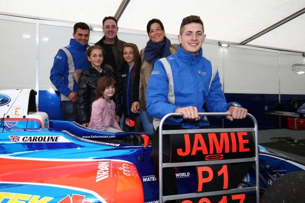 2017 British MSA F4 Championship, Brands Hatch, Kent. 30th September - 1st October 2017, Jamie Caroline (GBR) Carlin British F4 World copyright. JEP/LAT Images