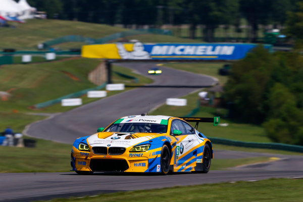 IMSA WeatherTech SportsCar Championship Michelin GT Challenge at VIR Virginia International Raceway, Alton, VA USA Friday 25 August 2017 96, BMW, BMW M6 GT3, GTD, Jesse Krohn, Jens Klingmann World Copyright: Jake Galstad LAT Images