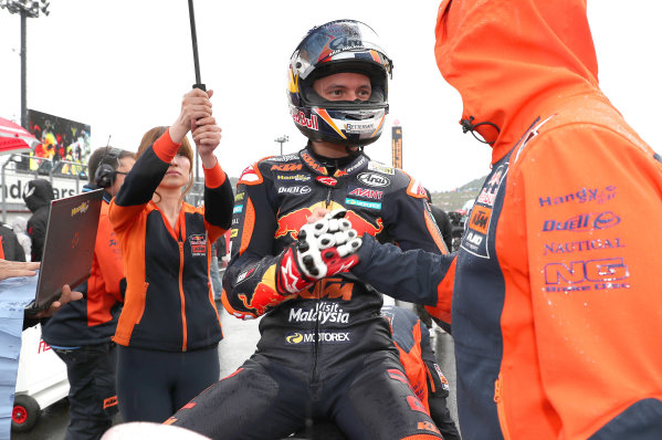 2017 Moto3 Championship - Round 15 Motegi, Japan. Sunday 15 October 2017 Bo Bendsneyder, Red Bull KTM Ajo World Copyright: Gold and Goose / LAT Images ref: Digital Image 22610