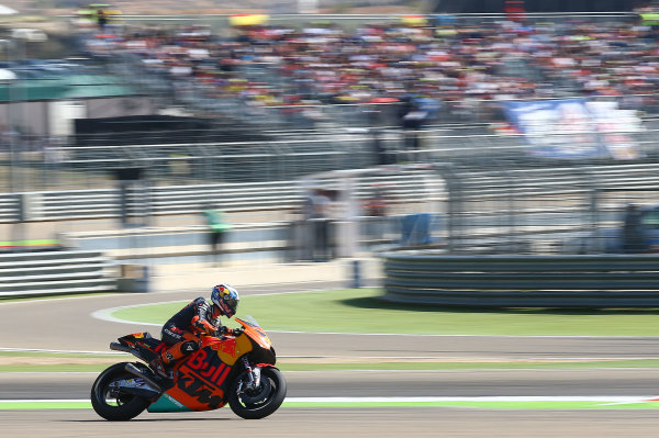 2017 MotoGP Championship - Round 14 Aragon, Spain. Saturday 1 January 2000 Pol Espargaro, Red Bull KTM Factory Racing World Copyright: Gold and Goose / LAT Images ref: Digital Image 694231