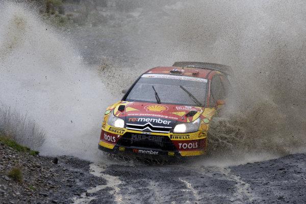 Round 13Wales Rally GB 11-14 October 2010Petter Solberg, Citroen WRC, ActionWorldwide Copyright: McKlein/LAT