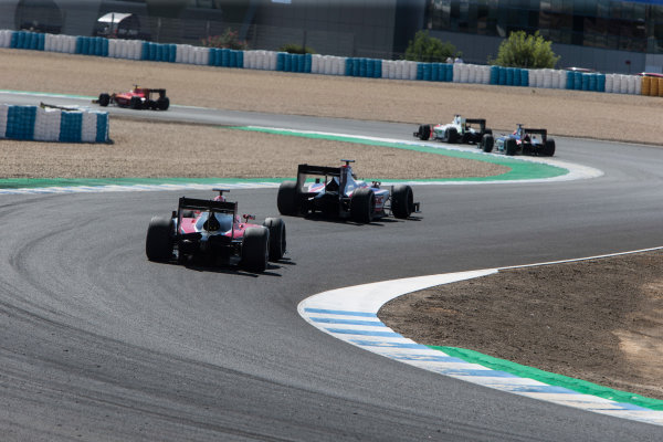 2017 FIA Formula 2 Round 10. Circuito de Jerez, Jerez, Spain. Sunday 8 October 2017.  Photo: Andrew Ferraro/FIA Formula 2. ref: Digital Image _FER3584