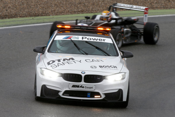 FIA F3 European Championship Hockenheim, Germany 1st - 3rd May 2015 Safety Car. (Race 3). Copyright Free FOR EDITORIAL USE ONLY. Mandatory Credit: FIA F3. ref: Digital Image FIAF3-1430677954