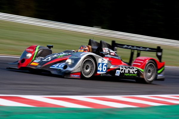 Spa Francorchamps, Spa, Belgium.5th - 7th May 2011LMP2. Mathias Beche (CHE), Pierre Thiriet (FRA), Jody Firth (GBR). LMS. TDS Racing. Oreca 03-Nissan. World Copyright: Malcolm Griffiths/LAT Photographicref: Digital Image _H0Y6005