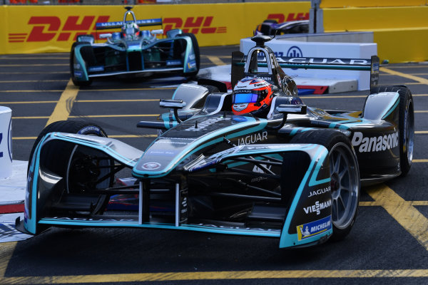 2017/2018 FIA Formula E Championship. Round 2 - Hong Kong, China. Sunday 03 December 2017. Mitch Evans (NZL), Panasonic Jaguar Racing, Jaguar I-Type II. Photo: Mark Sutton/LAT/Formula E ref: Digital Image DSC_4942