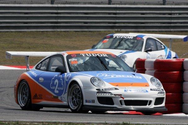 Philip Briandet (CDN) Shift2neutral Racing Porsche Carrera Cup Asia, Shanghai, China, 16-18 April 2010.
