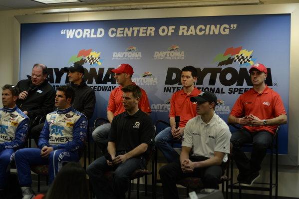 3-5 January, 2014, Daytona Beach, Florida USA Chip Ganassi Racing Announces 2014 IMSA Plans @2014, Richard Dole LAT PHOTO USA