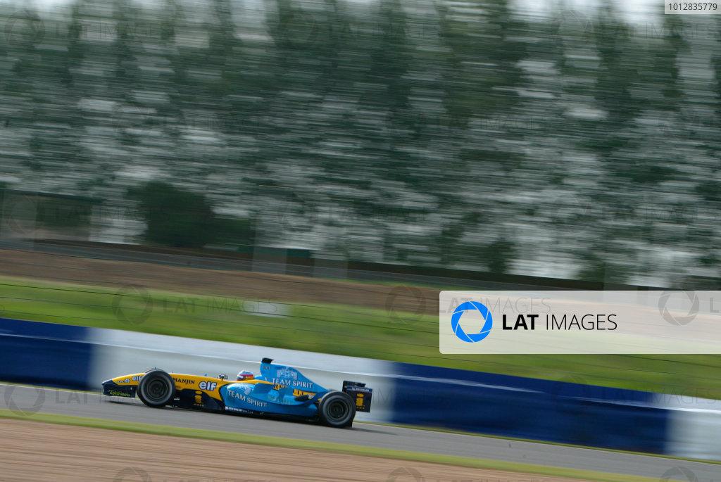 2004 Formula One Testing.