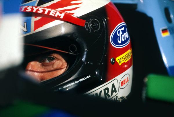 1994 Spanish Grand Prix. Catalunya, Barcelona, Spain. 27 - 29 May 1994. Michael Schumacher (Benetton B194 Ford), 2nd position, cockpit portrait. World Copyright: LAT Photographic. Ref:  Colour Transparency.
