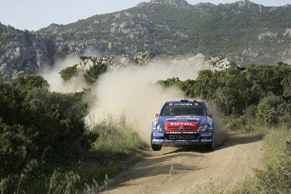 2006 FIA World Rally Championship.Round 7. 18th - 21st May 2006.Rally of Italy, Sardinia.Xavier Pons, Citroen Xsara, action.World Copyright: McKlein/LAT