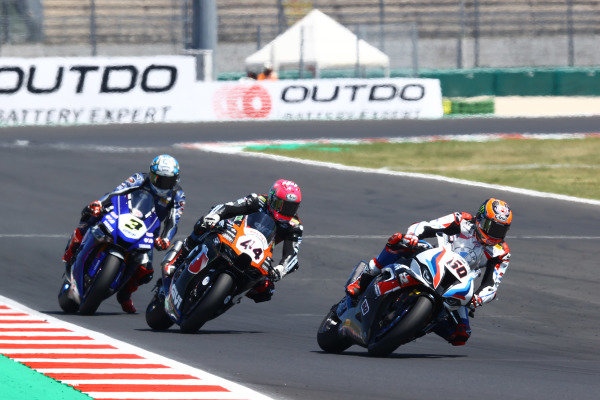 Michael van der Mark, BMW Motorrad WorldSBK Team, Lucas Mahias, Kawasaki Puccetti Racing, Kohta Nozane, GRT Yamaha WorldSBK Team.