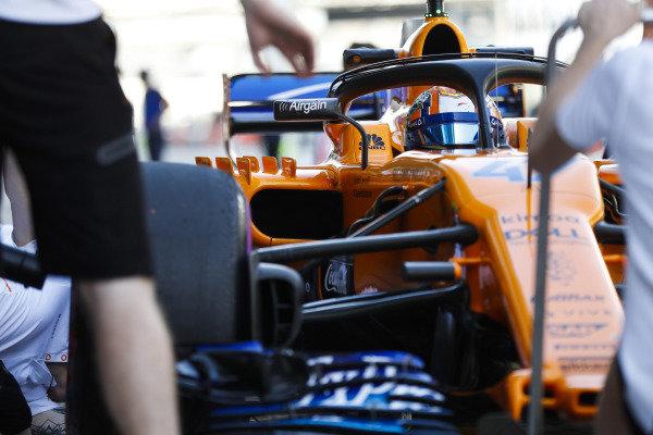 Lando Norris, McLaren.