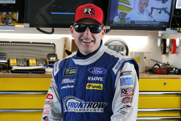 #34: Michael McDowell, Front Row Motorsports, Ford Mustang Dockside Logistics