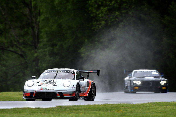 #91, Porsche 911 GT3 R (991), Anthony Imperato and Matt Campbell