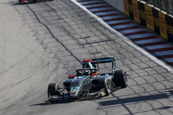 SOCHI AUTODROM, RUSSIAN FEDERATION - SEPTEMBER 29: Keyvan Andres (IRN, HWA RACELAB) during the Sochi at Sochi Autodrom on September 29, 2019 in Sochi Autodrom, Russian Federation. (Photo by Joe Portlock / LAT Images / FIA F3 Championship)