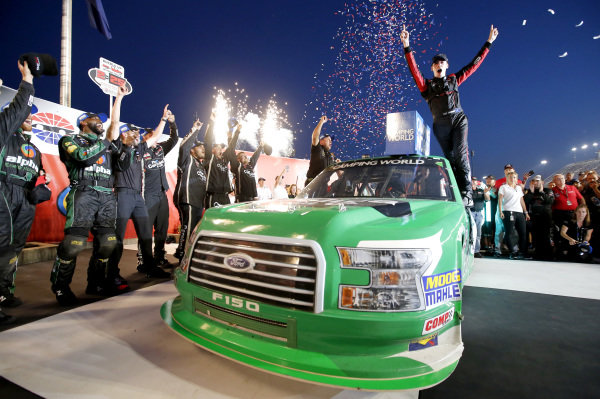 #41: Ben Rhodes, ThorSport Racing, Ford F-150 Alpha Energy Solutions