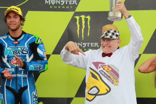 Podium: Marc van der Straten, Marc VDS Racing