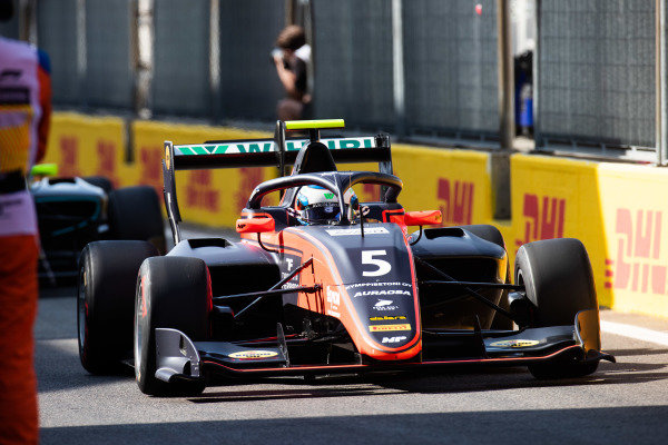 AUTODROMO NAZIONALE MONZA, ITALY - SEPTEMBER 07: Simo Laaksonen (FIN, MP Motorsport) during the Monza at Autodromo Nazionale Monza on September 07, 2019 in Autodromo Nazionale Monza, Italy. (Photo by Joe Portlock / LAT Images / FIA F3 Championship)