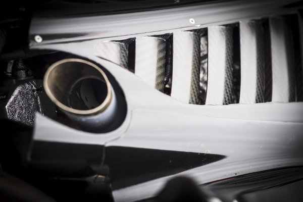 Will Power, Team Penske Chevrolet exhaust