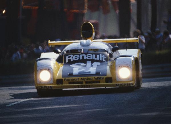 Didier Pironi / Jean-Pierre Jaussaud, Equipe Renault Elf Sport, Renault Alpine A442B.