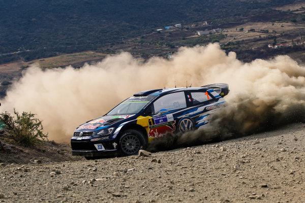 2016 FIA World Rally Championship, Round 03, Rally Mexico, March 3-6, 2016 Sébastien Ogier, VW, action Worldwide Copyright: McKlein/LAT