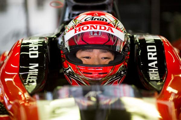 Circuit de Barcelona Catalunya, Barcelona, Spain. Monday 13 March 2017. Nobuharu Matsushita (JPN, ART Grand Prix). Photo: Alastair Staley/FIA Formula 2 ref: Digital Image 580A9015