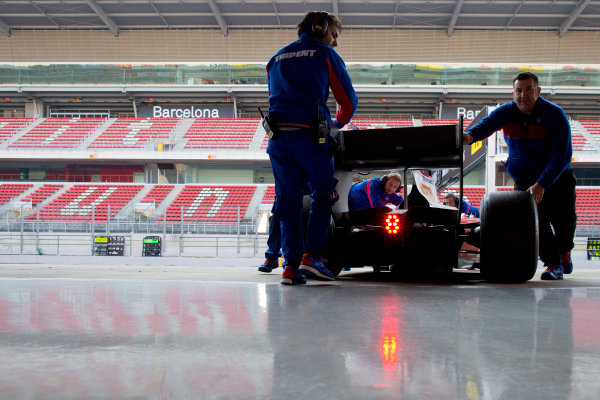 Circuit de Barcelona Catalunya, Barcelona, Spain. Wednesday 15 March 2017. Nabil Jeffri, (MAS, Trident).  Photo: Alastair Staley/FIA Formula 2 ref: Digital Image 580A1508