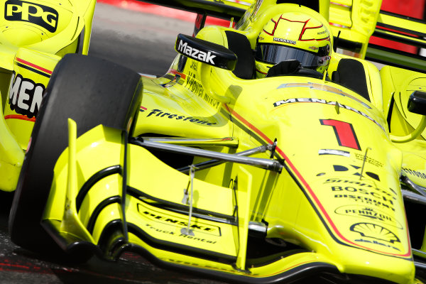 2017 Verizon IndyCar Series Toyota Grand Prix of Long Beach Streets of Long Beach, CA USA Friday 7 April 2017 Simon Pagenaud World Copyright: Perry Nelson/LAT Images ref: Digital Image nelson_lb_0409_0923