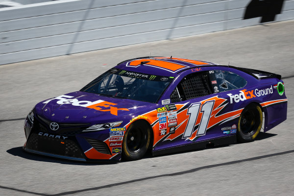 2017 Monster Energy NASCAR Cup Series - Fold of Honor QuikTrip 500 Atlanta Motor Speedway, Hampton, GA USA Friday 3 March 2017 Denny Hamlin, FedEx Ground Toyota Camry World Copyright: Barry Cantrell/LAT Images ref: Digital Image 17ATLbc0654