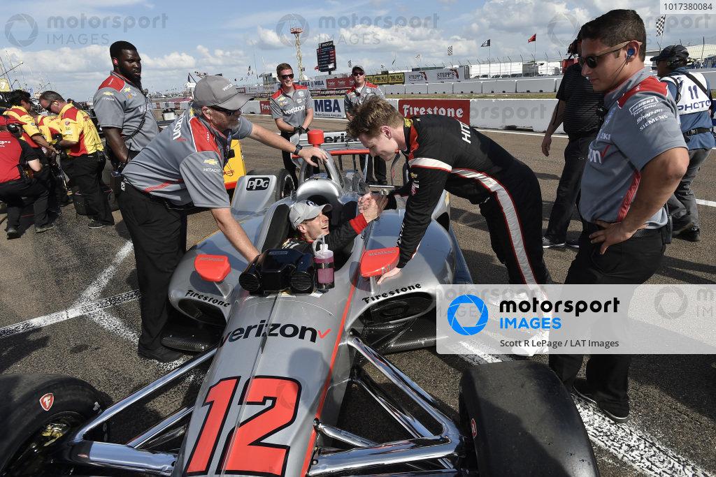 Will Power, Team Penske Chevrolet, Josef Newgarden, Team Penske Chevrolet, NTT P1 Award