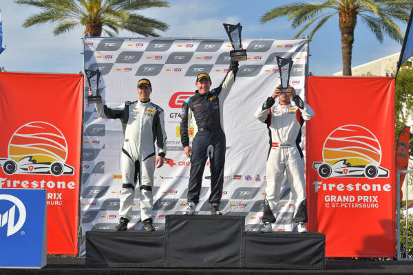 TC Race 2 Podium