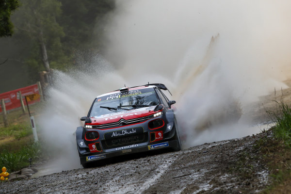 Craig Breen, Citroën Racing, Citorën C3 WRC 2018