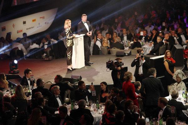 FIA Formula E CEO Alejandro Agag, speaks to Julia Piquet