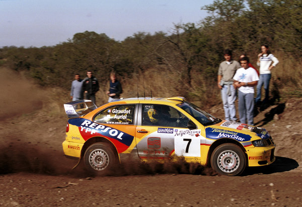 2000 Argentina Rally.Didier Auriol (Seat Cordoba WRC).World - McKlein/LAT Photographic