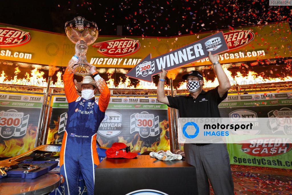 Race Winner Scott Dixon, Chip Ganassi Racing Honda Copyright: Chris Owens - IMS Photo