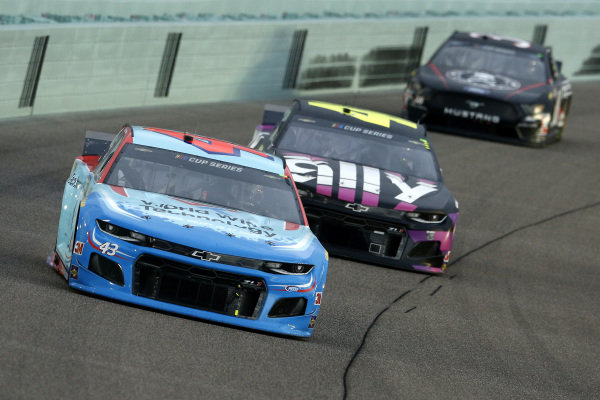 Darrell Wallace Jr., Richard Petty Motorsports Chevrolet World Wide Technology, Copyright: Michael Reaves/Getty Images.