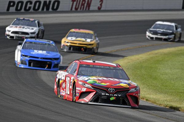 #18: Kyle Busch, Joe Gibbs Racing, Toyota Camry M&M's Skittles