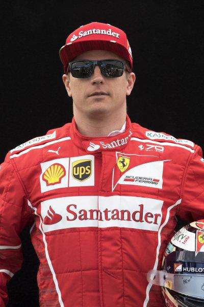 Kimi Raikkonen (FIN) Ferrari at Formula One World Championship, Rd1, Australian Grand Prix, Preparations, Albert Park, Melbourne, Australia, Thursday 23 March 2017.