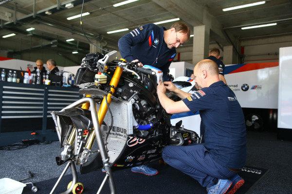 Markus Reiterberger, BMW Motorrad WorldSBK Team bike.