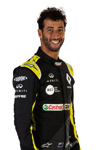 Daniel Ricciardo (AUS) Renault F1 Team. Copyright: James Moy/XPB/Renault F1
