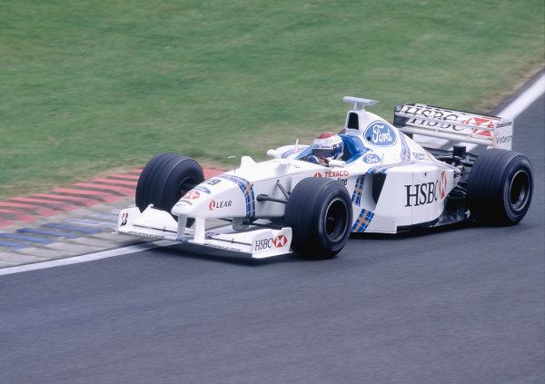 Silverstone, England. 10-12 July 1998.Jos Verstappen (Stewart SF2 Ford).Ref-98 GB 120.World Copyright - Lorenzo Bellanca/LAT Photographic