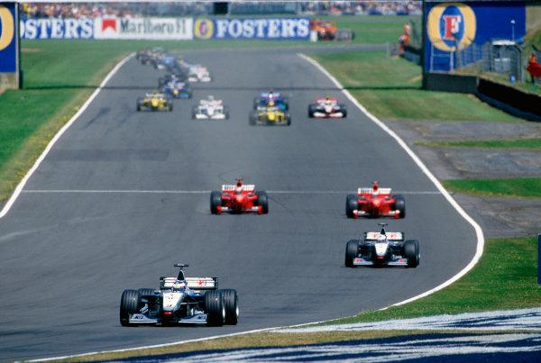Silverstone, England.9th - 11th July 1999. Rd 8.xxxWorld Copyright: LAT PhotographicRef: 99GB11