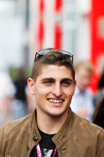Monte Carlo, Monaco. Sunday 24 May 2015. Paris Saint Germains Marco Verratti. World Copyright: Alastair Staley/LAT Photographic. ref: Digital Image _R6T2575