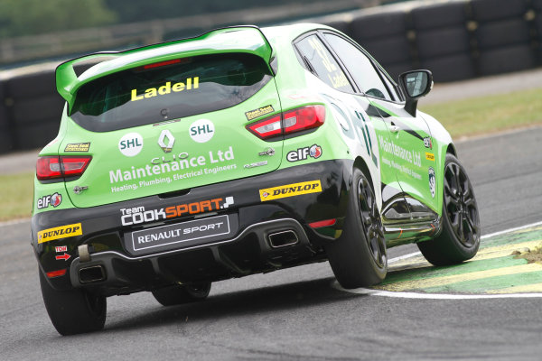 2015 Renault Clio Cup, Croft, 27th-28th June 2015, Charles Ladell (GBR) Team Cooksport Renault Clio Cup  World copyright. Jakob Ebrey/LAT Photographic