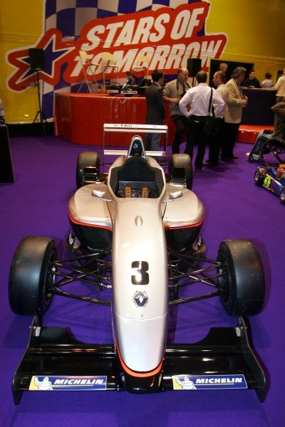Lewis Hamilton's Formula Renault.. Autosport Show, NEC, Birmingham, England, 11 January 2008
