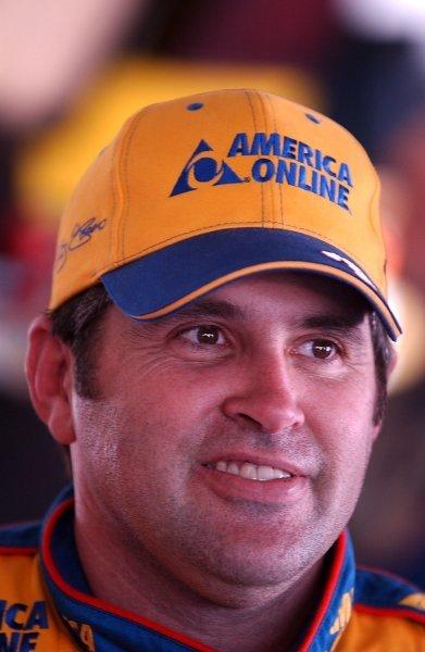 Pole sitter Jeff Green (USA) AOL Chevrolet.NASCAR Winston Cup Series, Daytona 500 Practice, Daytona, Florida, USA, 11 February 2003.DIGITAL IMAGE